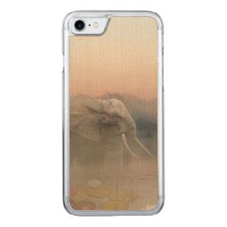 Der Elefant Carved iPhone 8/7 Hülle