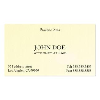 Der elegante Rechtsanwalt säubern II Visitenkarten Vorlage