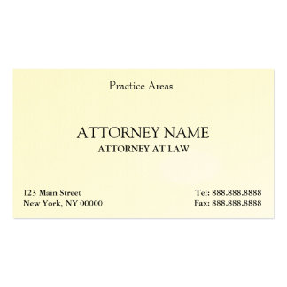 Der elegante Rechtsanwalt säubern Visitenkarten