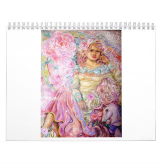 Der Engel der Rosenquarzuhr Kalender