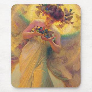 Der Engel der Vögel Franz Dvorak 1910 Mauspads
