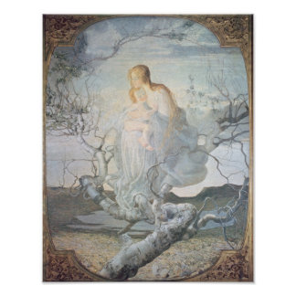 Der Engel von Leben 1894 Poster