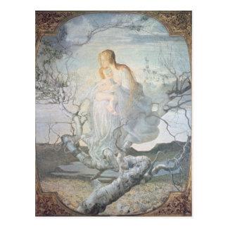 Der Engel von Leben, 1894 Postkarte