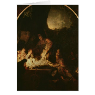 Der Entombment, c.1639 Grußkarte