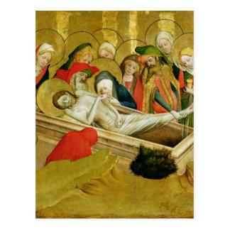 Der Entombment, Platte vom St Thomas Postkarte