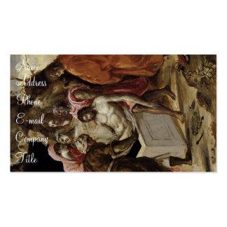 Der Entombment von Christ Visitenkarten