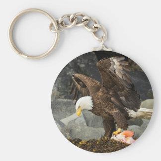 Der entscheidende Weißkopfseeadler Schlüsselanhänger