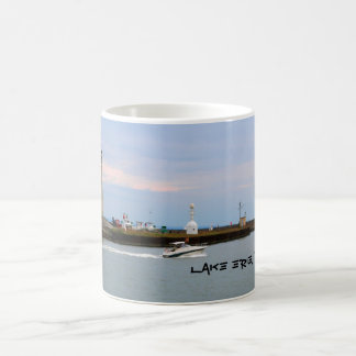 Der Eriesee, Leuchtturm des Büffel-NY Kaffeetasse