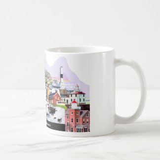 Der Eriesee-Leuchttürme Kaffeetasse