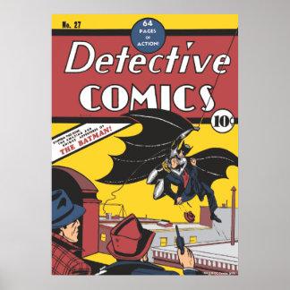 Der erste Auftritt des Batmans Vintag Poster