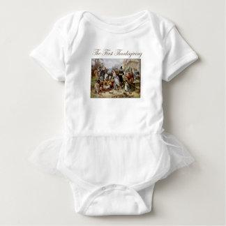 Der erste Erntedank Baby Strampler