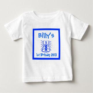 der erste Geburtstag des Babys, Baby 1. Baby T-shirt