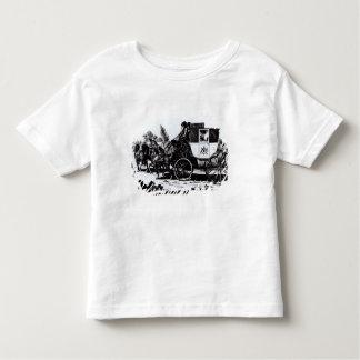 Der erste Post-Zug, 1784 T-shirt