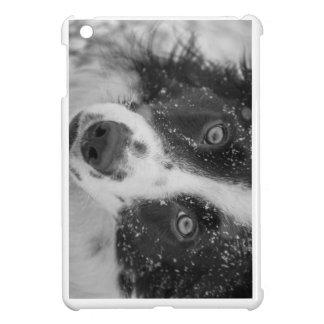 Der erste Schnee der Border-Collie iPad Mini Hülle