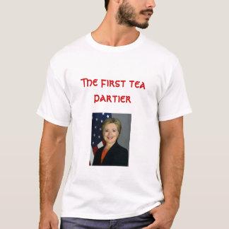 Der erste Tee partier