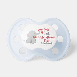 Der erste Valentinstag des Babys Schnuller