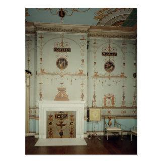 Der Etruscan Raum, Osterley Park, Middlesex Postkarte