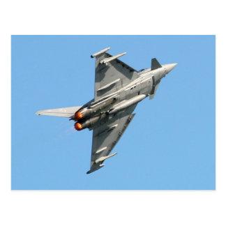 Der Eurofighter Taifun Postkarte