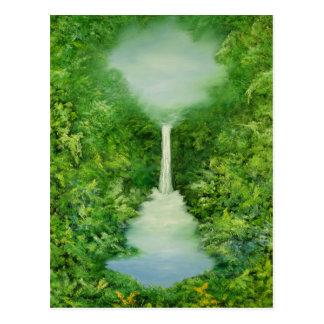 Der ewig Regen-Wald 1997 Postkarte