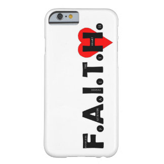 Der F.A.I.T.H. IPhone Schutzfall Barely There iPhone 6 Hülle