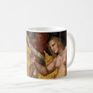 Der Fall - Adam und Eve durch RAPHAEL Sanzio Kaffeetasse