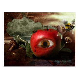Der Fall Edens der Garten-Postkarte Postkarte