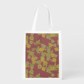 Der Fall, Herbst leaves.customize ich Wiederverwendbare Einkaufstasche