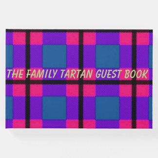 der Familie Tartan Guestbook Gäste Buch
