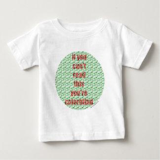 Der farbenblinde Test Baby T-shirt