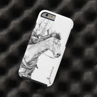 Der Fass-Rennläufer Tough iPhone 6 Hülle