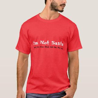Der Feiertags-T-Stück der Männer bin ich nicht T-Shirt