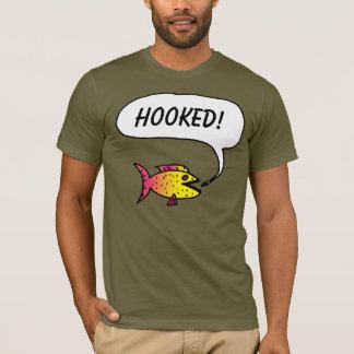 """Der Fisch sagt: """"Gehakt!"""" T - Shirt"""