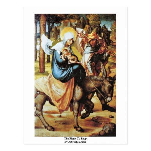 Der Flug nach Ägypten durch Albrecht Dürer Postkarten