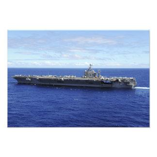 Der Flugzeugträger USS Abraham Lincoln Photo Drucke