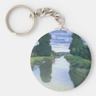 Der Fluss bei Berville durch Felix Vallotton Schlüsselanhänger