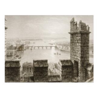 Der Fluss Shannon und Limerick Postkarte