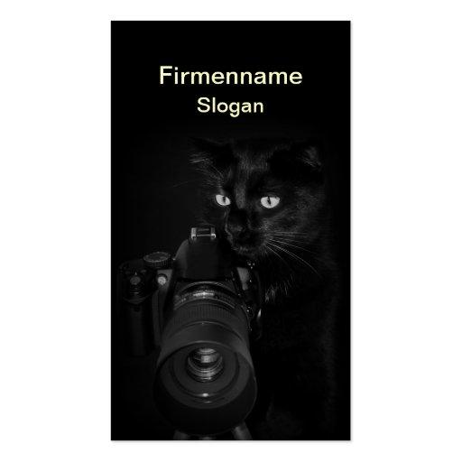 Der Fotograf -  Visitenkartenvorlage