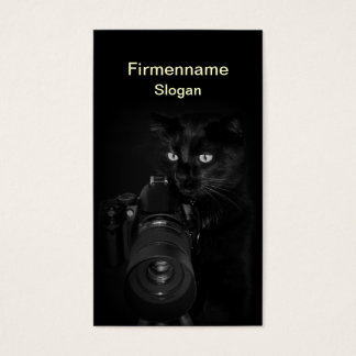 Der Fotograf -  Visitenkartenvorlage Visitenkarte