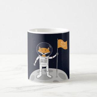 Der Fox auf dem Mond Kaffeetasse
