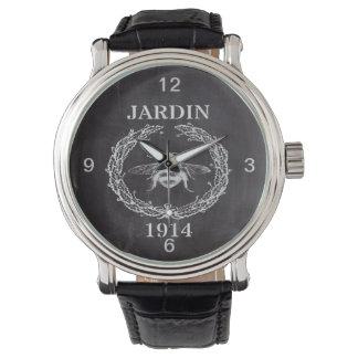 der französischen Vintage Königinbiene Landtafel Uhr