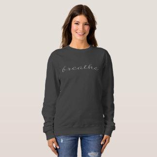 Der Frauen atmen Sweatshirt im Grau