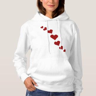 Der Frauen die Valentineslove Sweatshirts