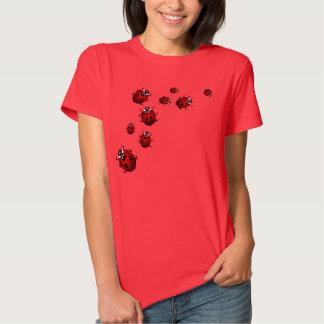Der Frauen Ladybird Shirt Tee der