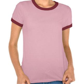Der Frauen Ladybug Ringer Shirt der