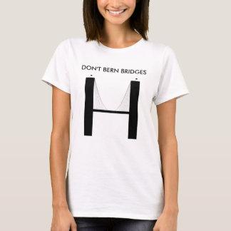 Der Frauen tun nicht Bern-Brücken T-Shirt