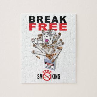 Der FREIE BRUCH - stoppen Sie zu rauchen Puzzle