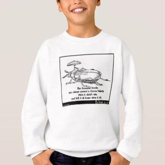 Der freigebige Käfer Sweatshirt