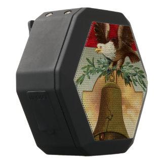 der Freiheitsglocke des kahlen Adlers patriotische Schwarze Bluetooth Lautsprecher