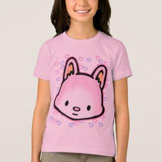 Der freundliche T - Shirt des Honig-Herzens
