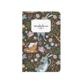 Der freundliche Wald Taschennotizbuch